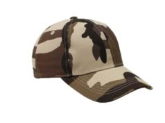 Light Brown Camo Caps