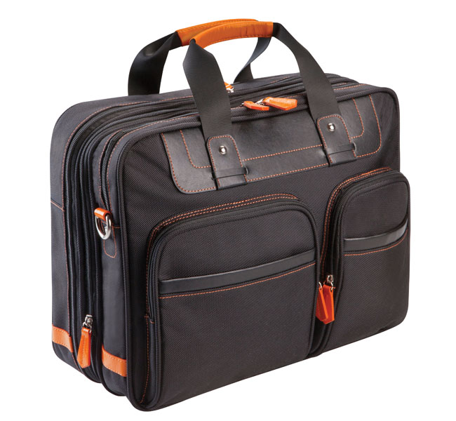 Expandable Laptop Shoulder Bag