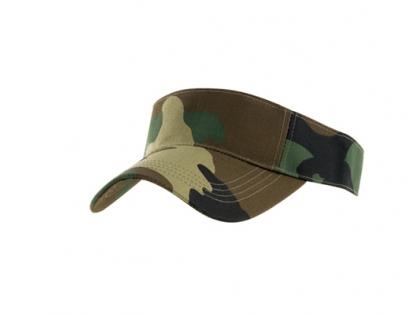 Sunvisor Camo Caps