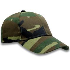 Green Camo Caps
