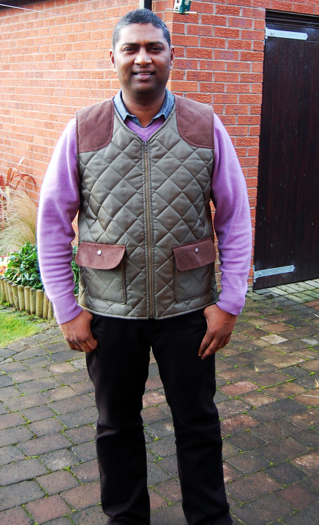 Diamond Quilted Body Warmer