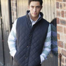 Check Quilted Body Warmers