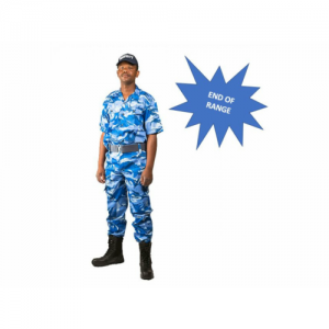 Camouflage security uniform
